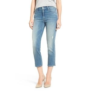 Mother High Waisted Rascal Crop Jeans
